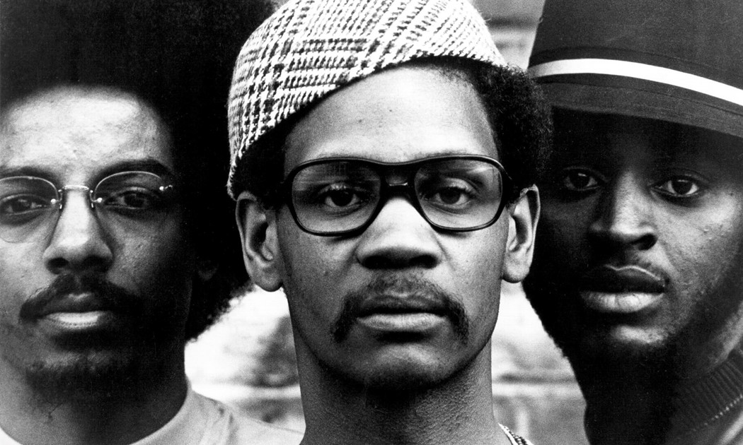 The Last Poets, left to right: Jalal Mansur Nuriddin, Abiodu