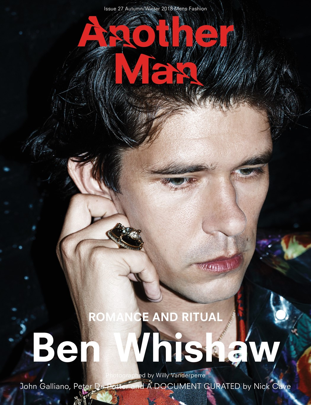 Another Man mag AW18 Ben Whishaw cover Willy Vanderperr 2018