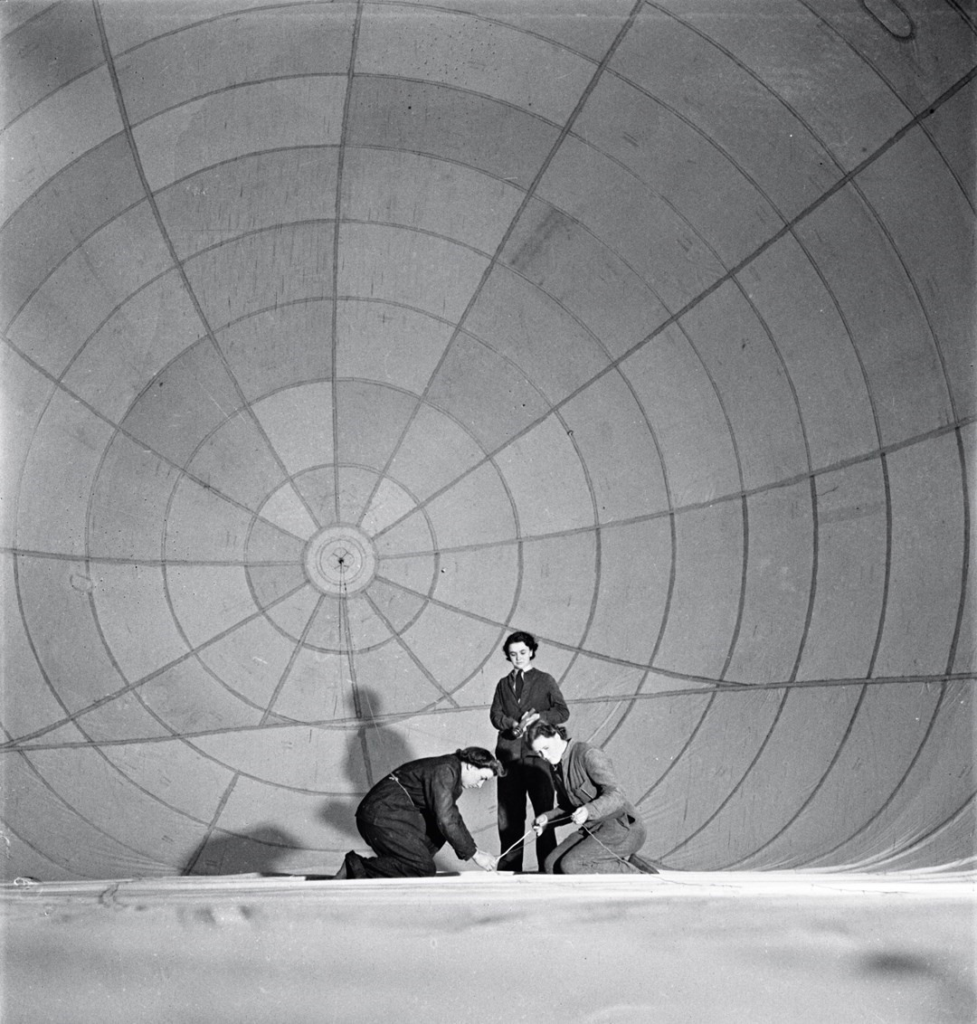 Women Working on the Barrage Balloon, 1941, by Cecil Beaton
