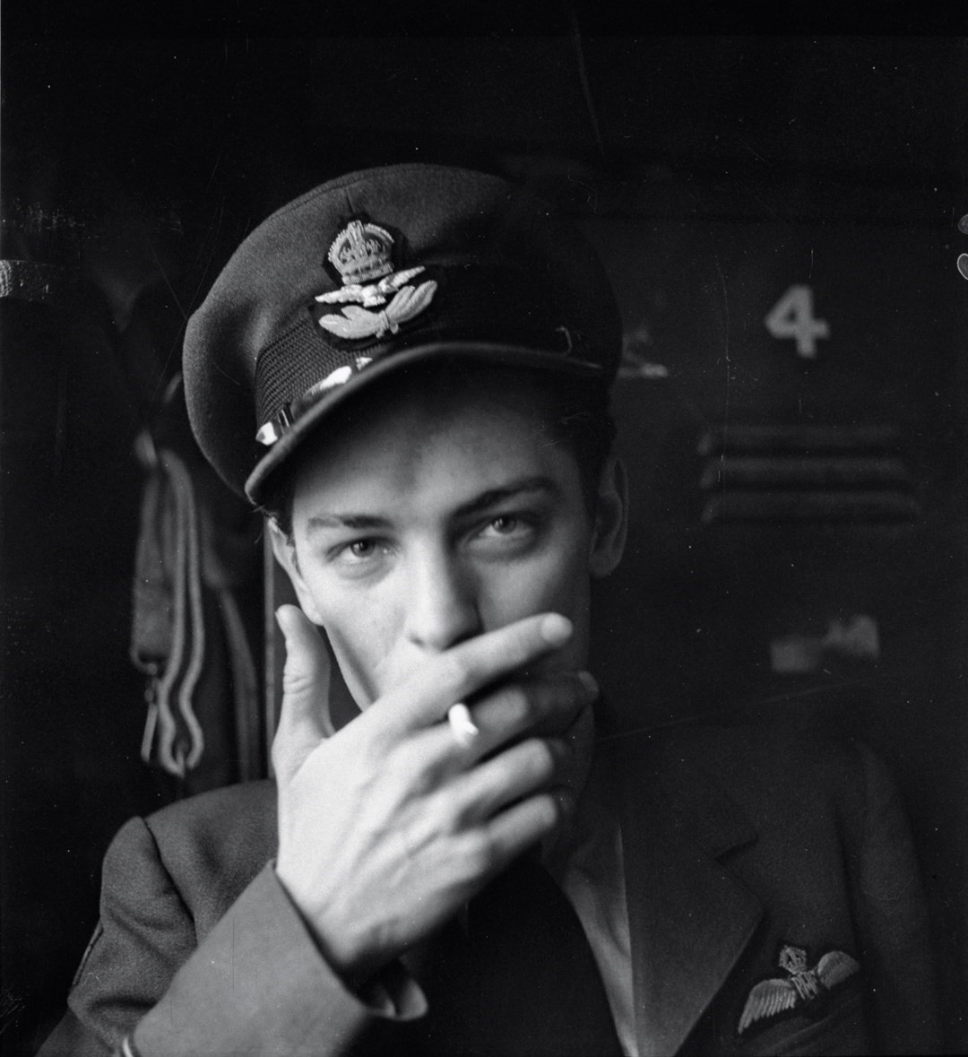 Eagle Squadron Pilot, 1942, by Cecil Beaton