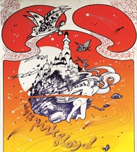 106. Hapshash poster for Pink Floyd at the UFO Clu