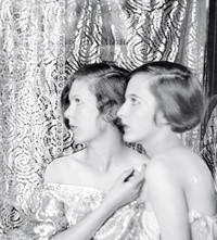 Nancy and Baba Beaton, Cecil's Sisters, by Cecil Beaton