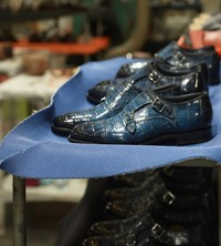 Santoni Factory Italian Shoes Mens 2019