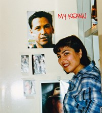 My Keanu book IDEA