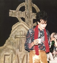 The Cramps band 1986 Roz Kidd
