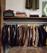 Levisons Gareth Powell vintage shop east London Brick Lane
