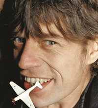 Mick Jagger young Marcia Resnick photography 1970s 70s