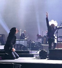 Nick Cave performing fan photos Another Man magazine 2018