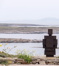 Antony Gormley SIGHT on the Island of Delos