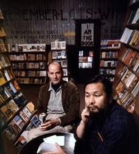 Beat Scene Burt Glinn photographs Lawrence Ferlinghetti