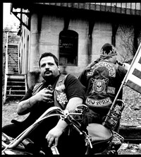 Outside Life Lowriders Coolers Bikers Bloods Hunter Barnes