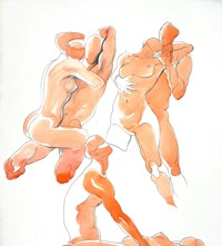 Body Study, Eric Suzewitz and Heather, 1982