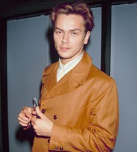 River Phoenix style fashion icon 1990s 90s menswear