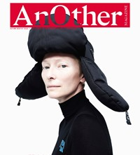 AnOther Magazine AW18 cover Tilda Swinton Willy Vanderperre