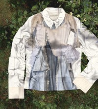 Stefan Cooke, Trompe L_oeil Long Sleeve Jersey Top