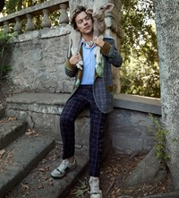 Harry Styles Gucci campaign ad 2018 Another Man fashion