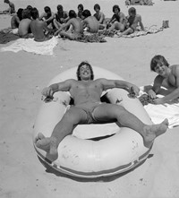 Fire Island New York Meryl Meisler 1970 gay men nudist beach