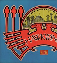 2. Hawkwind poster, 1973. Design © Barney Bubbles