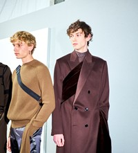 Dior Men's A/W19 Kim Jones fall 2019 backstage fashion week