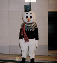 Christmas jumpers 2019 Samuel John Butt Reuben Esser snowman
