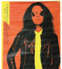 3. Larry Wallis poster, Stiffs Live Stiffs tour, 1