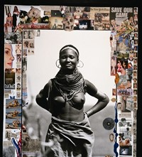 Peter Beard collage