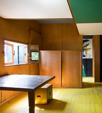 small room flat inspiration interior design Le Corbusier cab