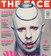 Alexander Lee McQueen The Face Magazine cover 1998 Nick Knig