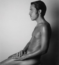 Ben Frederickson male nude photography Polaroid