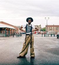 Bianca Saunders 'Personal Politics' collection Adama Jalloh
