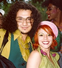 DJ Dmitry and Kier of Deee-Lite at Wigstock in Tom