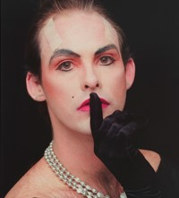 Hunter Reynolds, Shhh (from Patina du Prey Drag Pose Series)