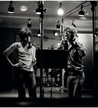 p175-Mick Jagger & Keith Richards 1972