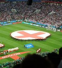 England Croatia football World Cup semi-final 2018 Russia