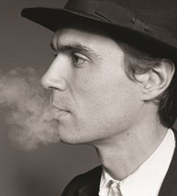 David Byrne young Marcia Resnick photography 1970s 70s