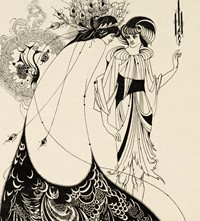Aubrey Beardsley Oscar Wilde's Salome The Peacock Skirt