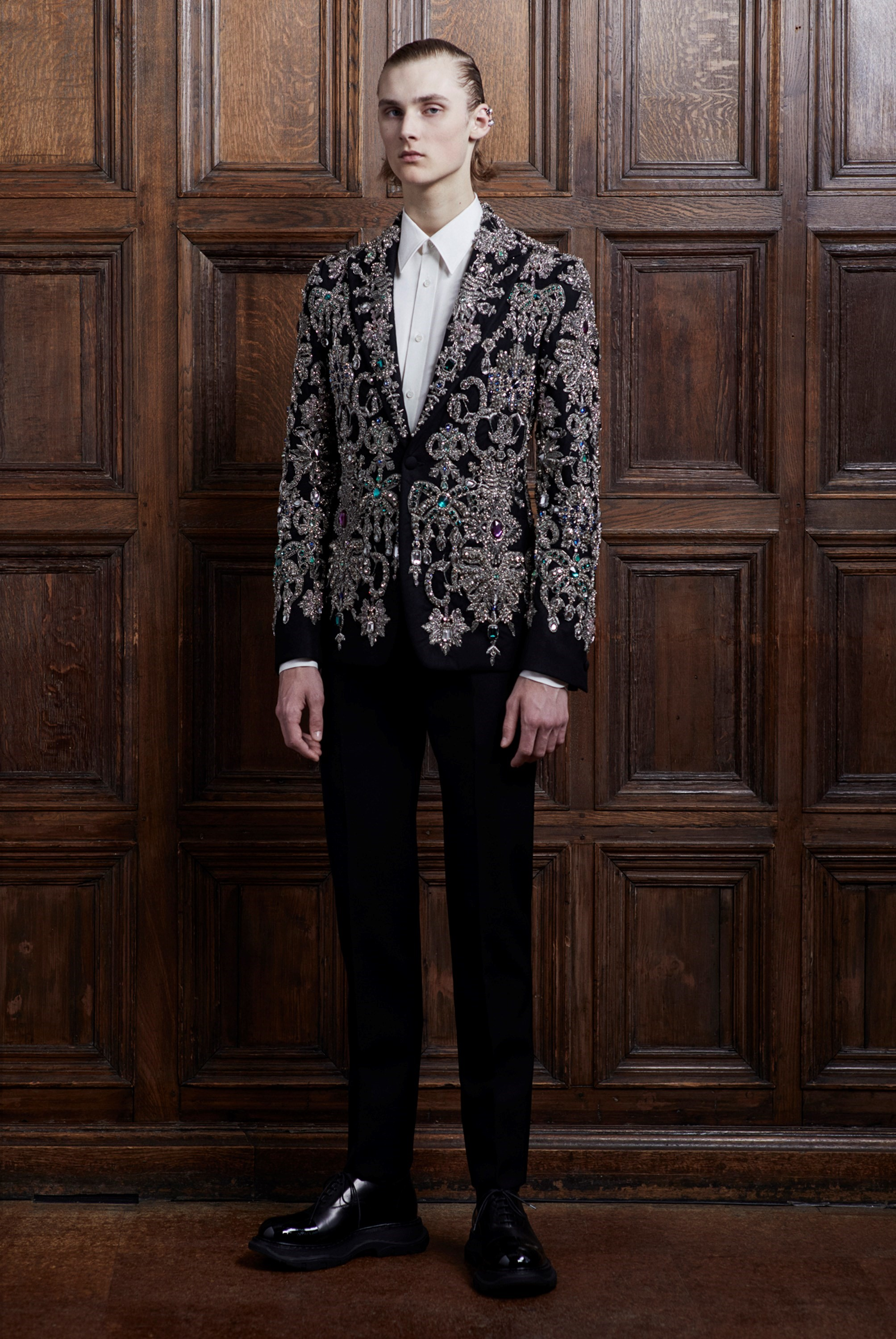 Alexander McQueen's Latest Men's Collection, Captured by Ethan James Green
