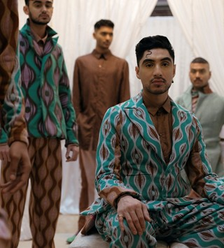 Rahemur Rahman fashion designer interview first collection