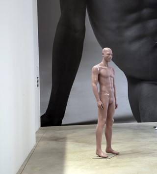 Exhibition nude pic think