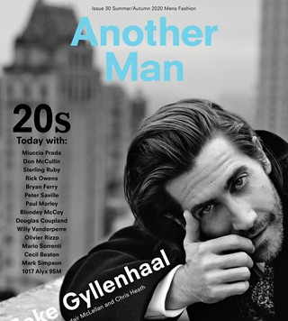 Jake Gyllenhaal Another Man magazine cover Alasdair McLellan