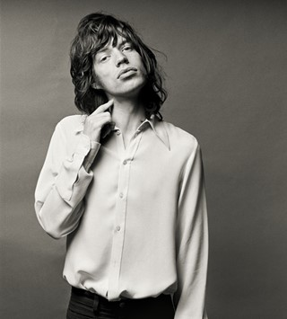 'Exile', Mick Jagger, 1972, Norman Seeff