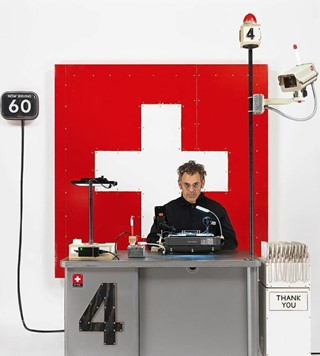 Tom Sachs, Swiss Passport Office, 2018
