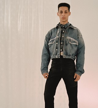 Martine Rose AW19 Fall 2019 men's fashion Eloise Parry photo