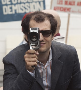 Louis Garrel as Jean-Luc Godard in Redoubtable
