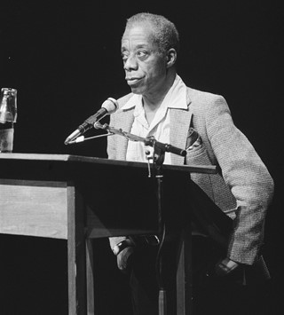James Baldwin Amsterdam December 1984