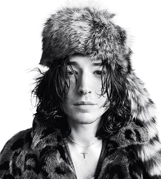 Ezra Miller for the A/W13 issue of Another Man