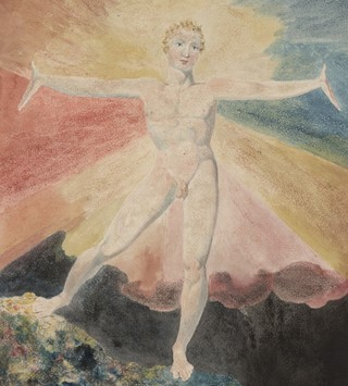 Tate Britain William Blake exhibition 2019 2020 Albion Rose