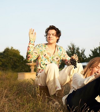 Harry Styles Gucci Mémoire d'une Odeur Behind the Scenes
