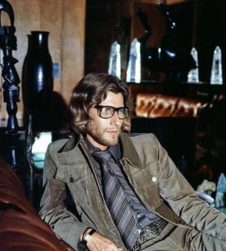 Designer Yves Saint Laurent in His Home in Paris