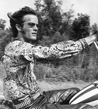 Peter Fonda as Wyatt in Easy Rider, 1969